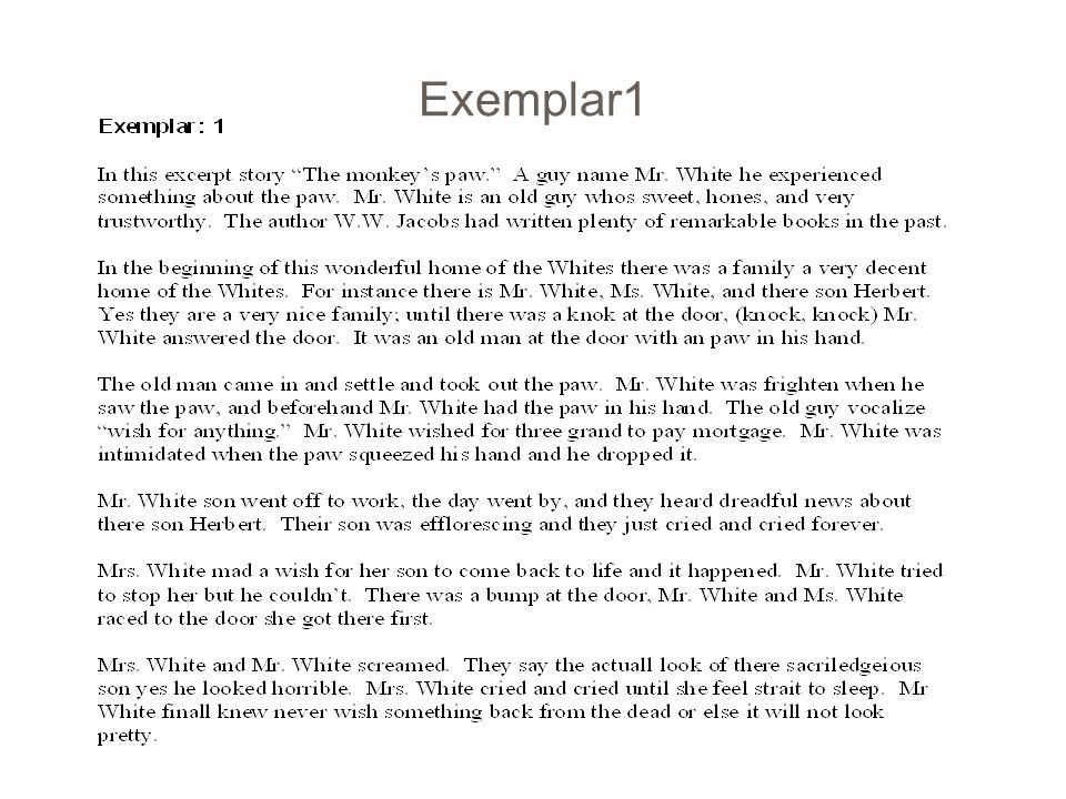 Essay Writing Expository Essay Character Analysis  - ppt video