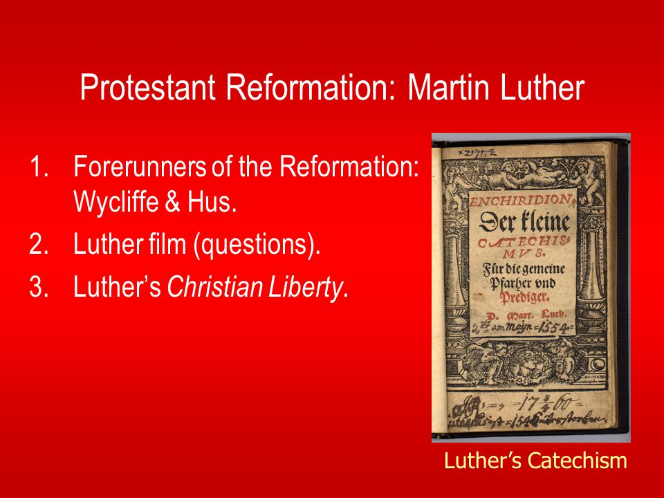 martin luther and the catholic reformation essay Essay the protestant reformation the protestant reformation throughout the middle ages the catholic church was subject to much criticism and disappointment.