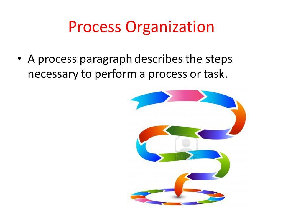 a process paragraph