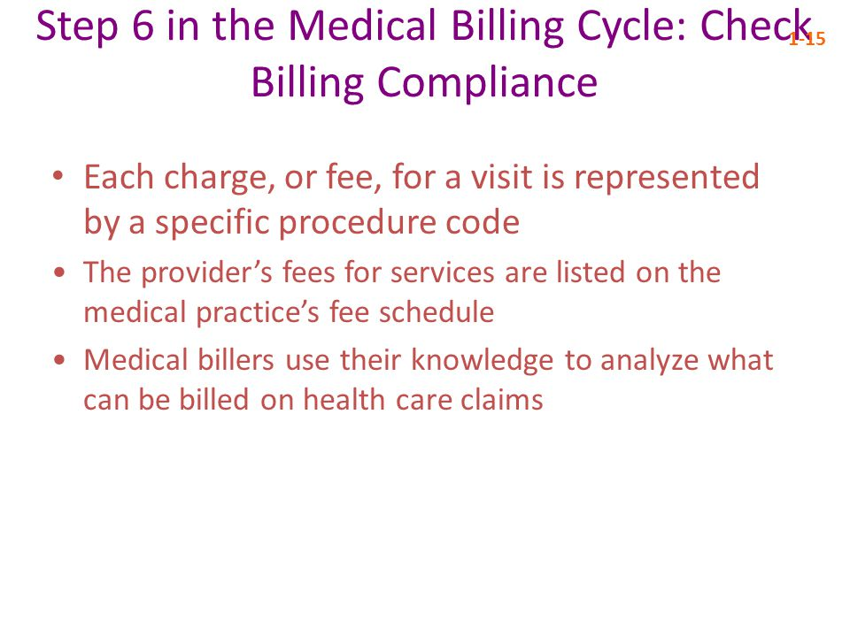 Step 6 in the Medical Billing Cycle: Check Billing Compliance