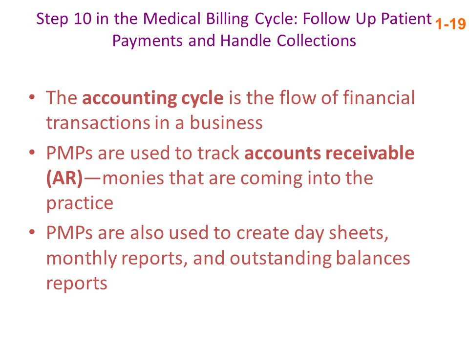 Step 10 in the Medical Billing Cycle: Follow Up Patient Payments and Handle Collections