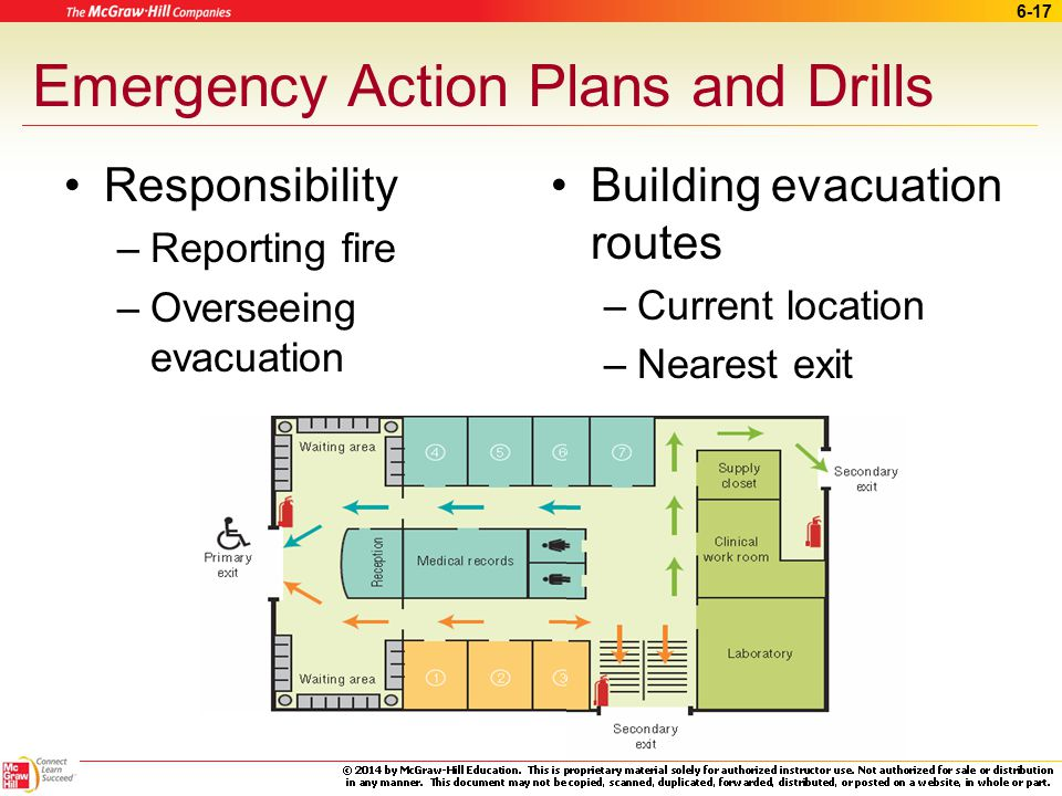 Emergency Action Plans and Drills