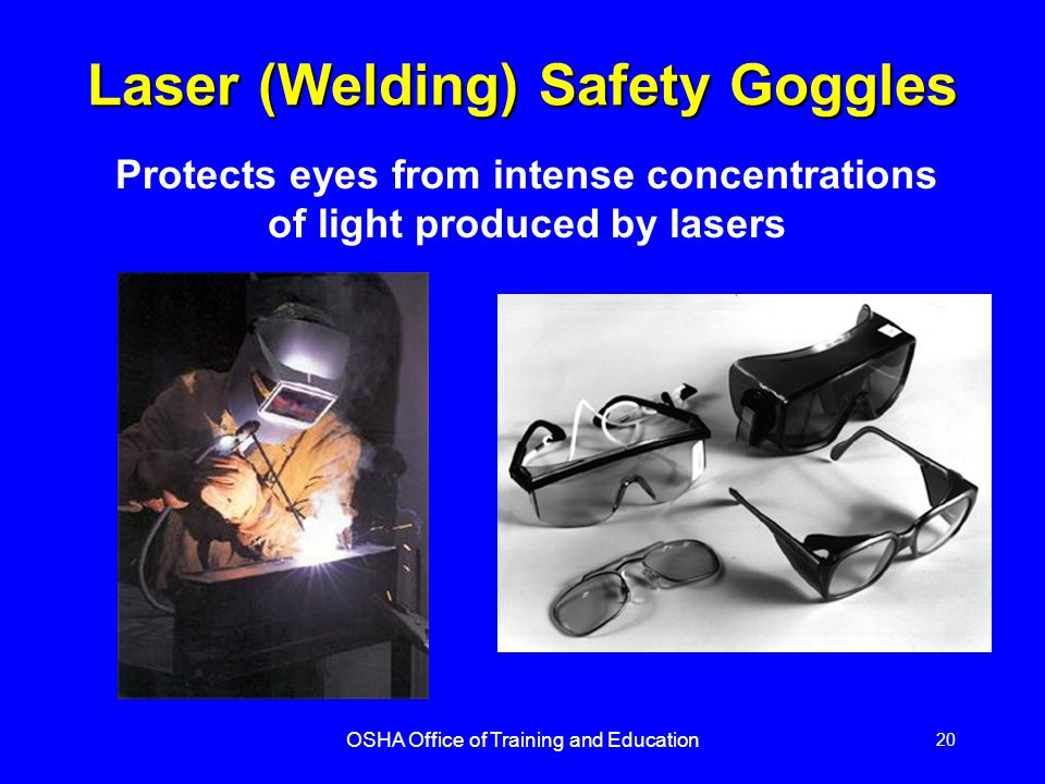Laser (Welding) Safety Goggles