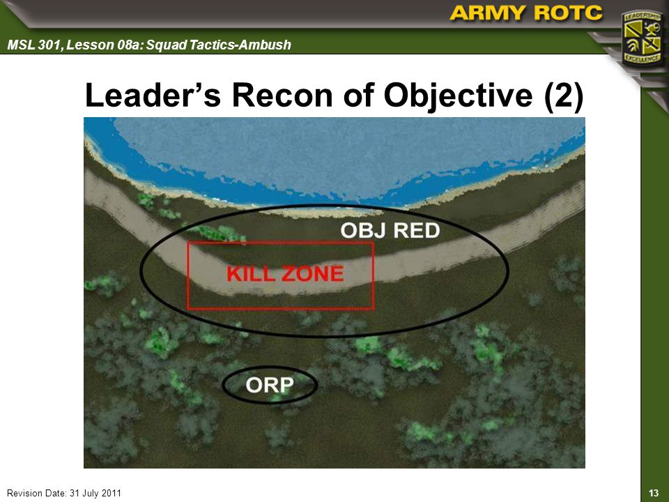 Leader's Recon of Objective (2)
