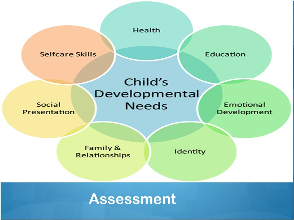 First of all we look to complete an assessment of the presenting problem but also how the people around the problem are struggling and/or coping. We can see here some of the most important factors to childs development, and as a clinical psychologist I am always curious and interested in theses areas of a child life.