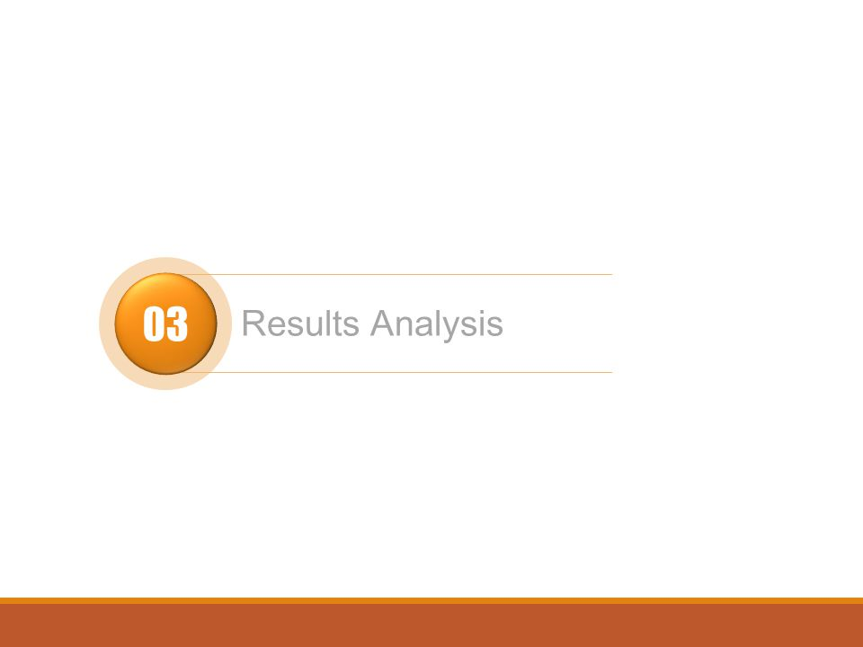 03 Results Analysis
