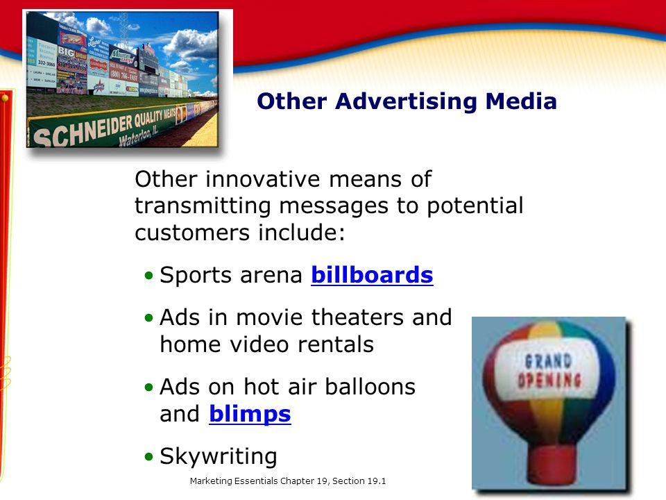 Other Advertising Media