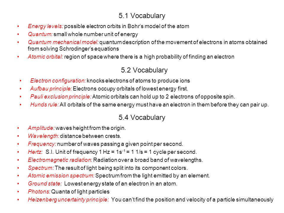 5 3 Physics And The Quantum Mechanical Model Ppt Video