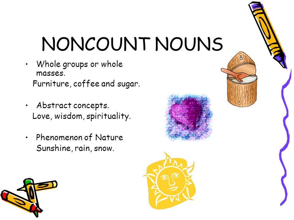 COUNT AND NONCOUNT NOUNS - ppt video online download