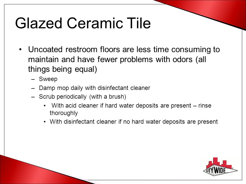 Hard Floors Arent Hard To Maintain Ppt Download