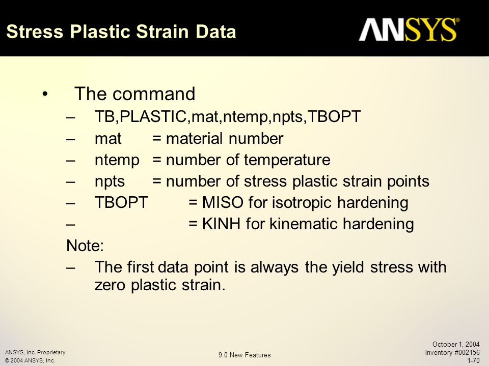 Chapter 1 ANSYS Release ppt download