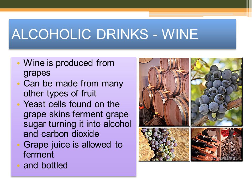 ALCOHOLIC DRINKS - WINE