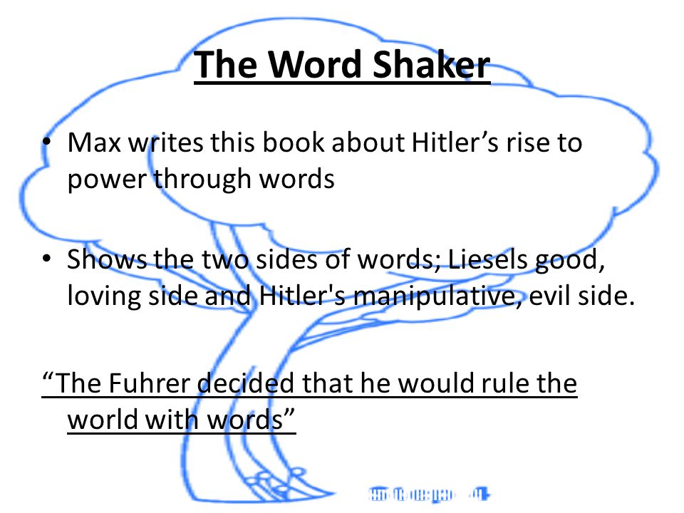 power of words the book thief