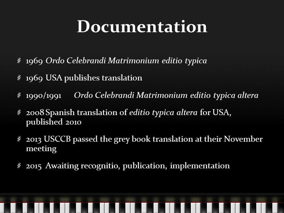 Documentation+1969+Ordo+Celebrandi+Matri
