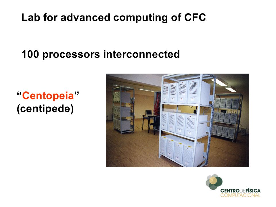 Lab for advanced computing of CFC