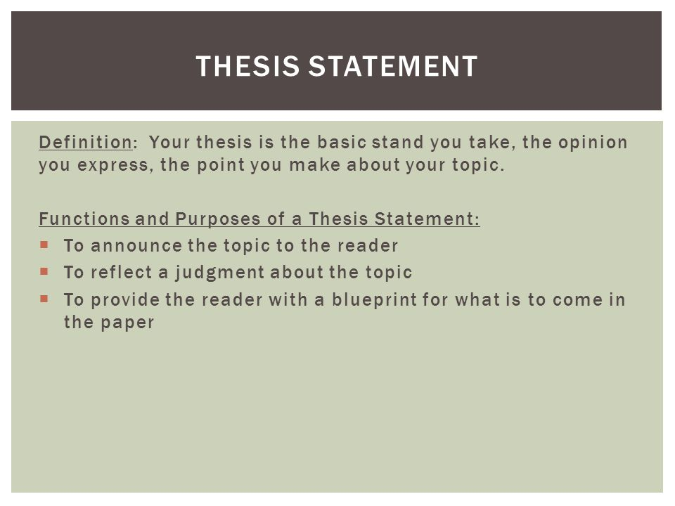 thesis statements outlines Thesis statement and informal outline worksheet thesis statement: to effectively achieve personal responsibility you must hold yourself accountable for what you're trying to accomplish.