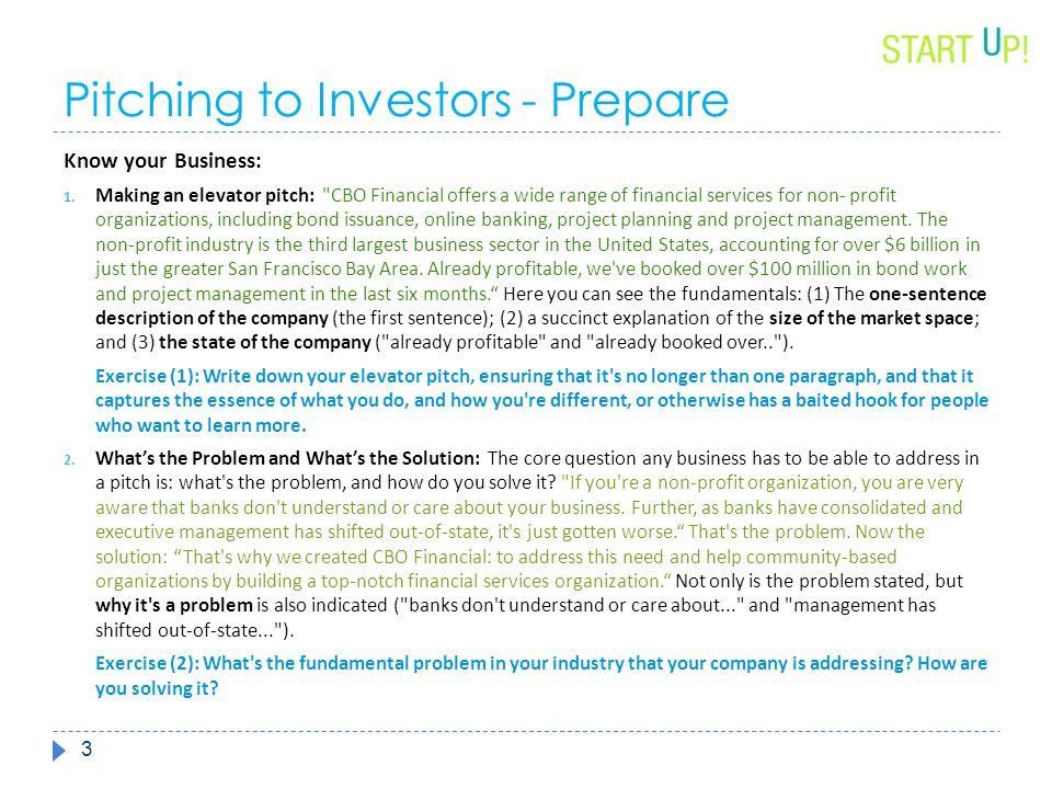 Investor Pitch toolkit   phase six  - ppt download