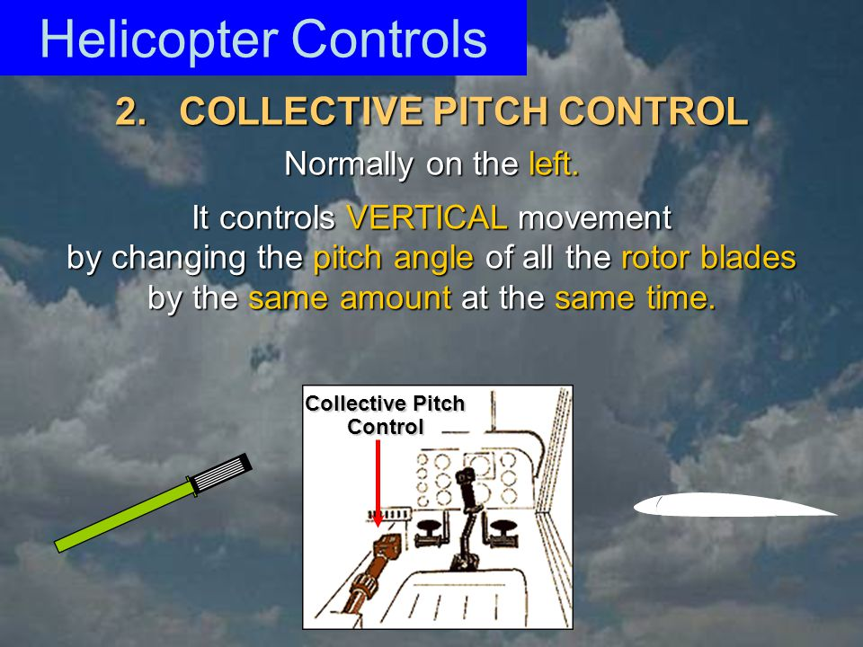 2. COLLECTIVE PITCH CONTROL