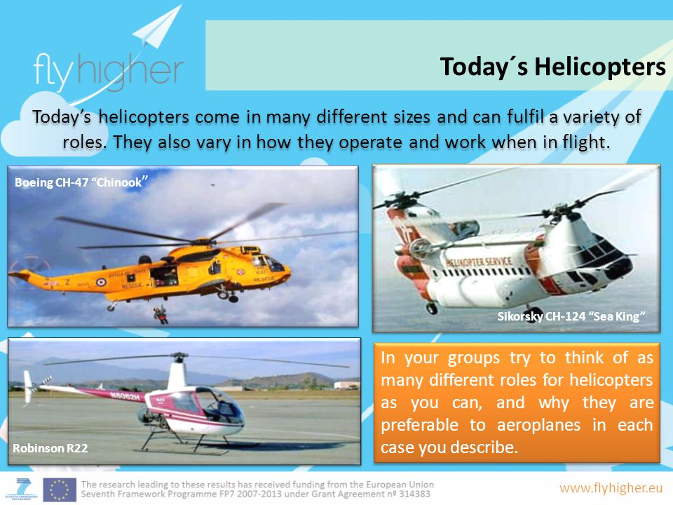 Today´s Helicopters