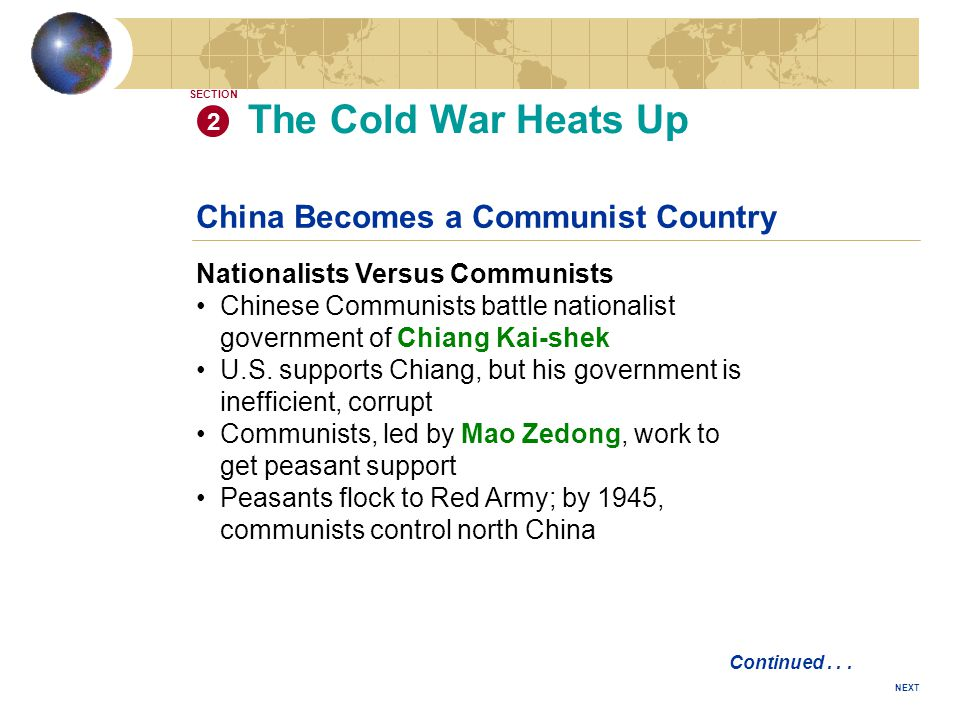 cold war conflicts u s vs u s s r ppt video online download rh slideplayer com chapter 18 guided reading the cold war heats up answers Cold Solder Gun