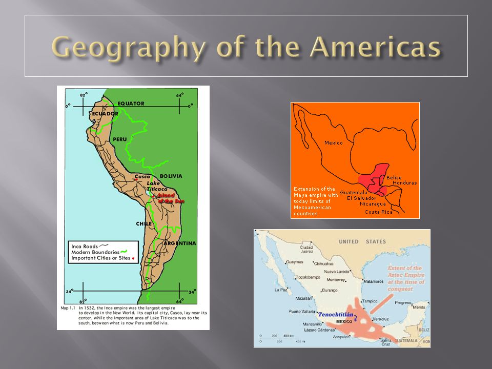 Geography of the Americas