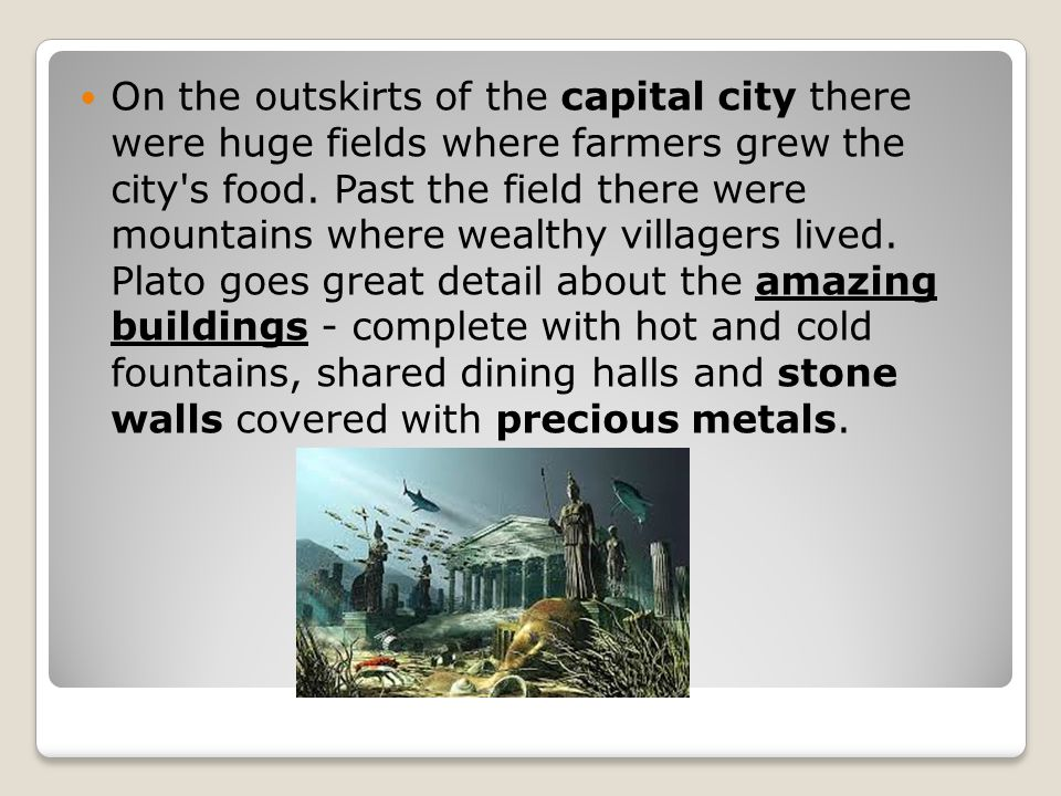 the lost city of atlantis ppt download
