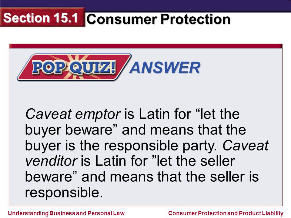 let the buyer beware caveat emptor 'caveat emptor' let buyer beware 'caveat venditor' let seller beware, sri lankans suffer as consumers in dealing with prices, quality, presentation and.