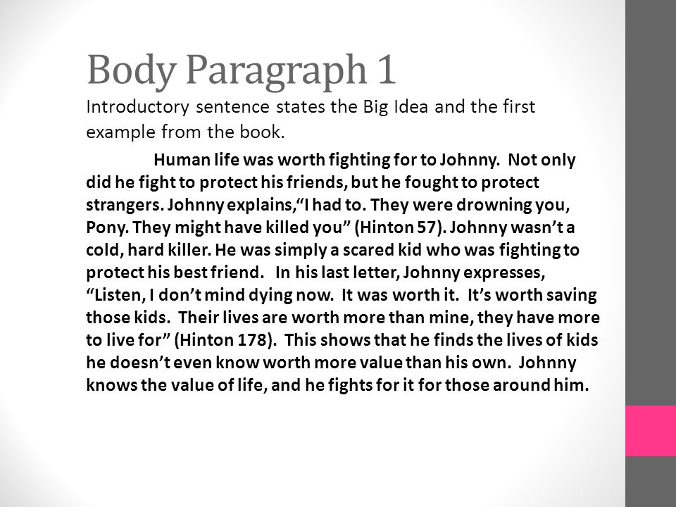 the outsiders book summary pdf