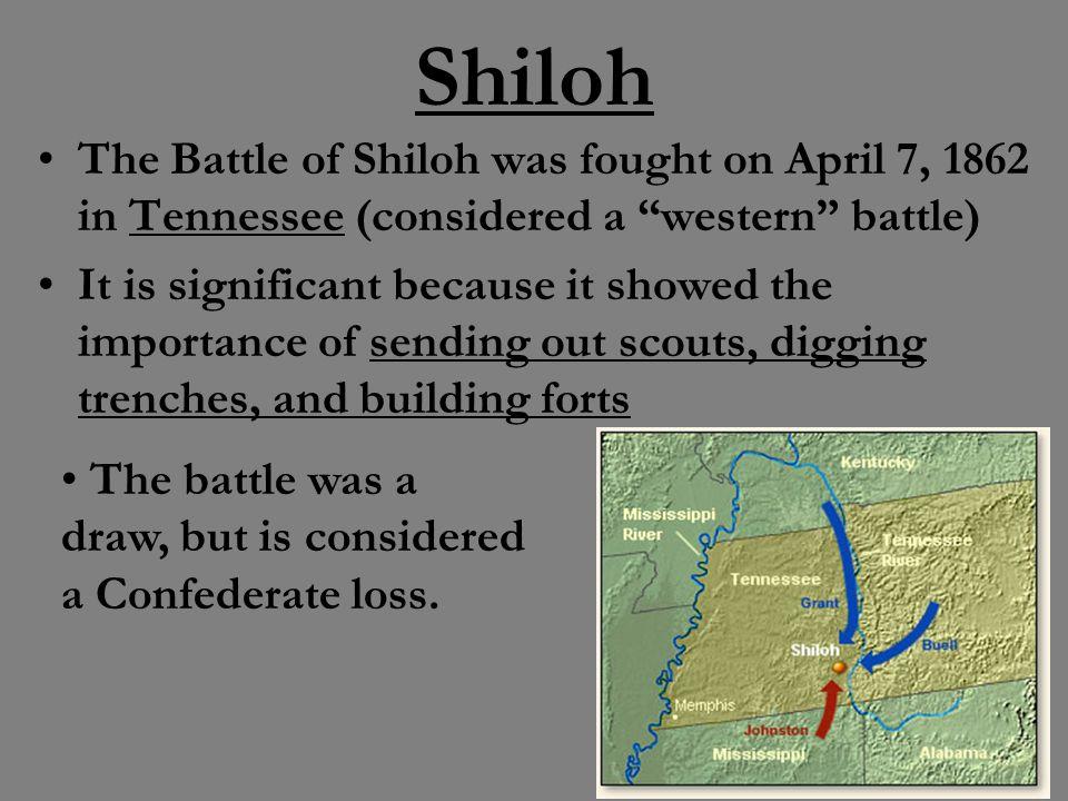 battle of shiloh importance