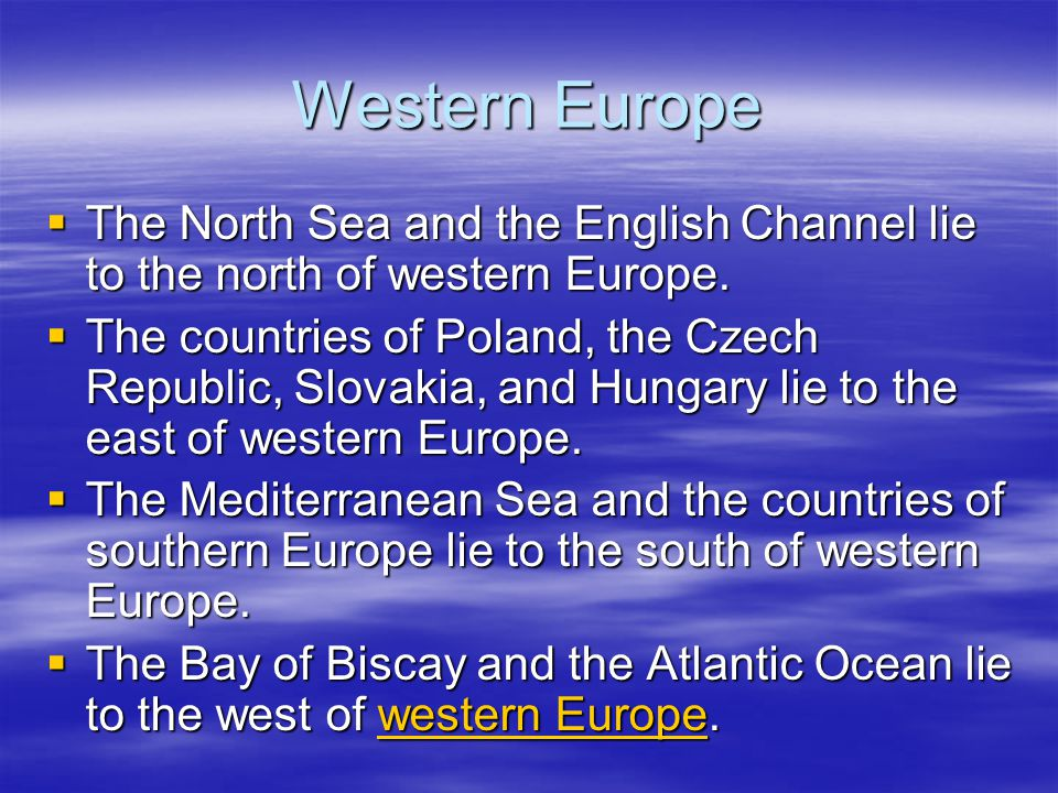 306f0add9 Western Europe Chapter ppt video online download