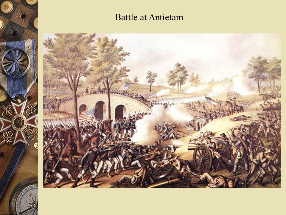 Battle at Antietam
