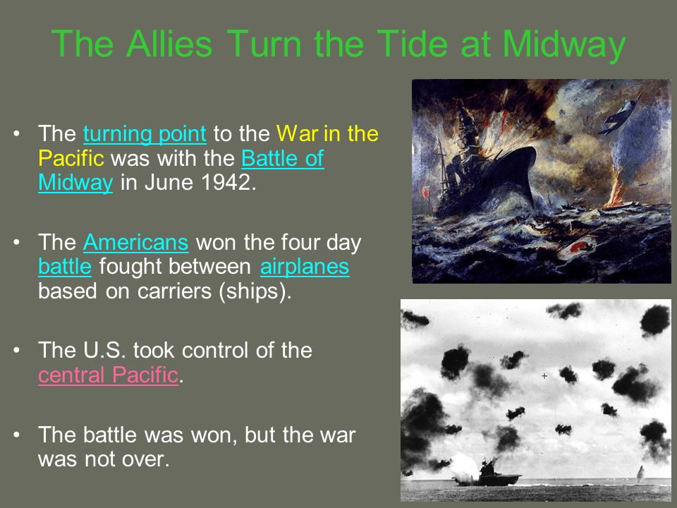 The Allies Turn the Tide at Midway