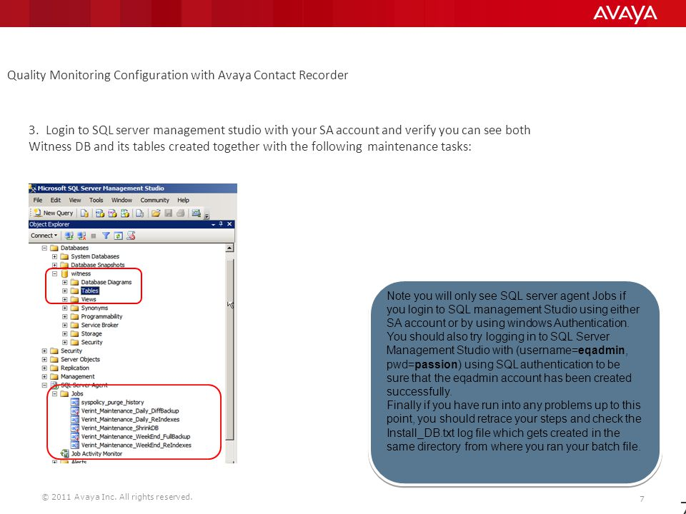 Support and Configuration of Avaya QM ppt download
