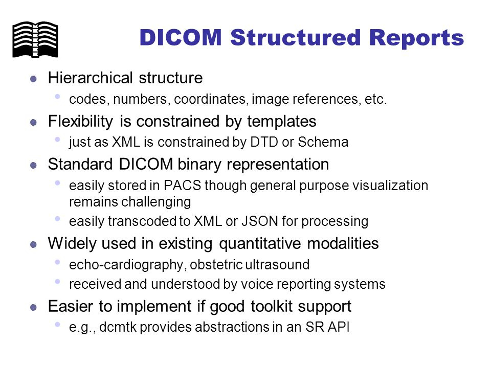 DICOM Structured Reporting