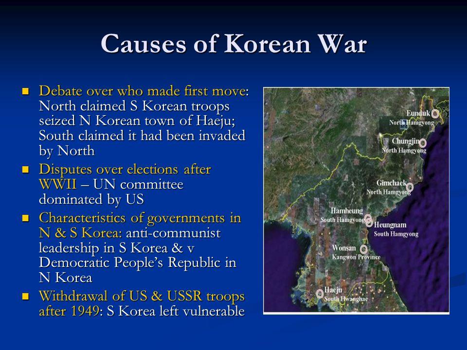 causes of korean war