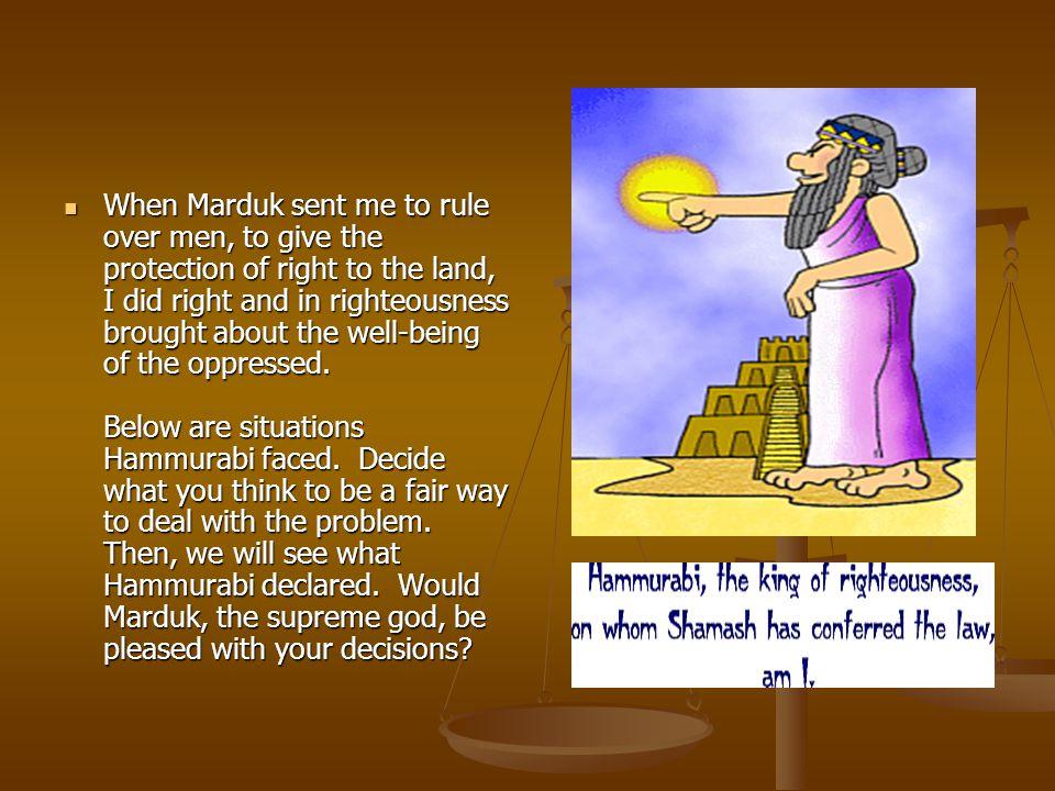 hammurabi the rule of righteousness book