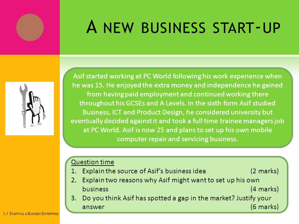 1 1 starting a business enterprise ppt download