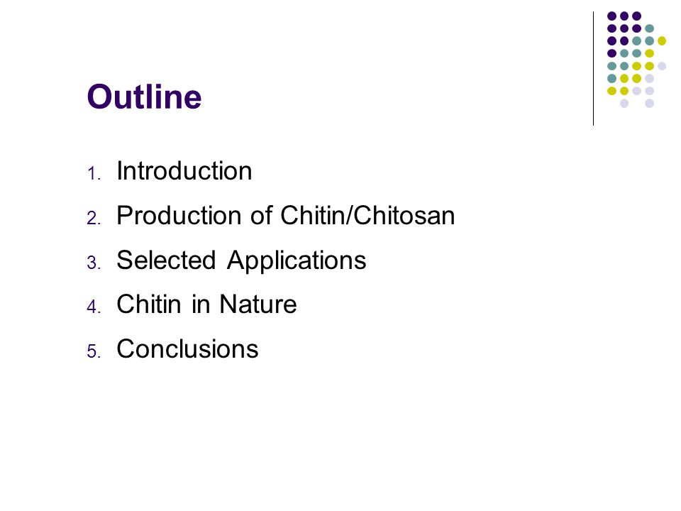 Literature Review: Chitin and Chitosan From Nature to