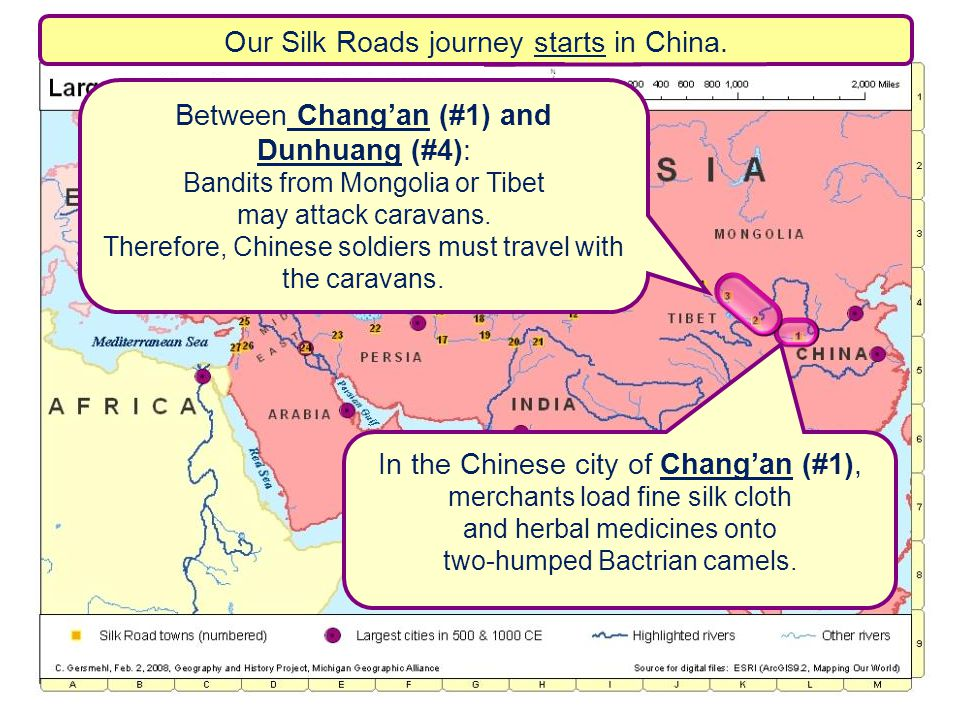 Our Silk Roads journey starts in China.