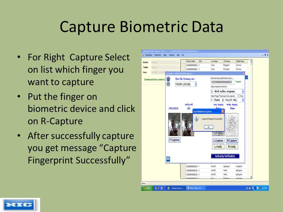 Offline Photo & Biometric Capturing (Village level) - ppt video