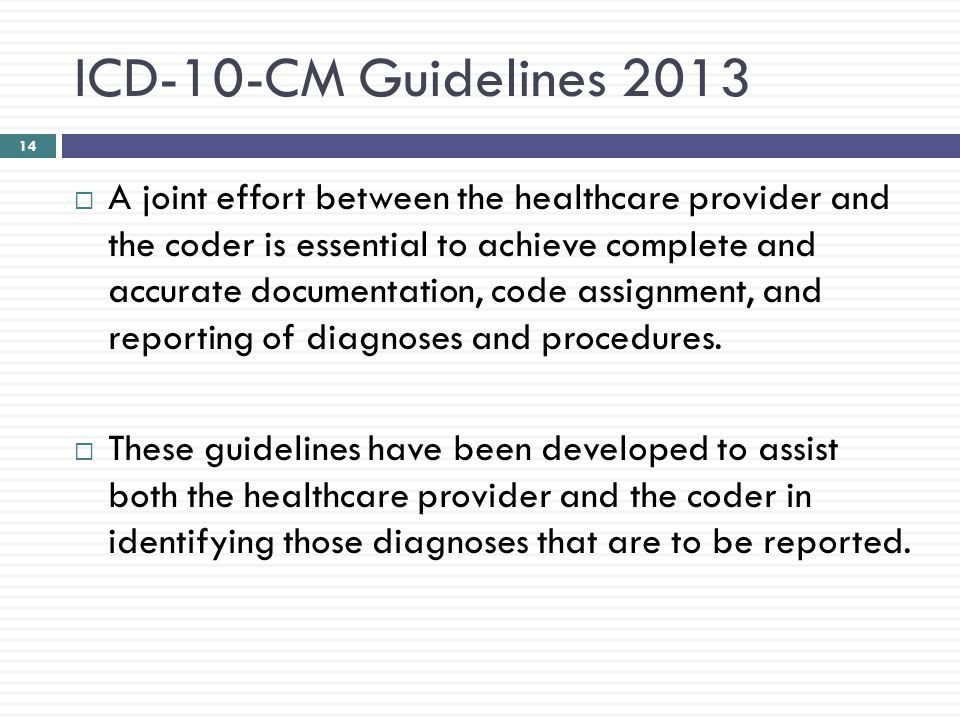 implementation of icd 10 joining the rest of the world in coding rh slideplayer com Inpatient Coding Examples Physician Coding