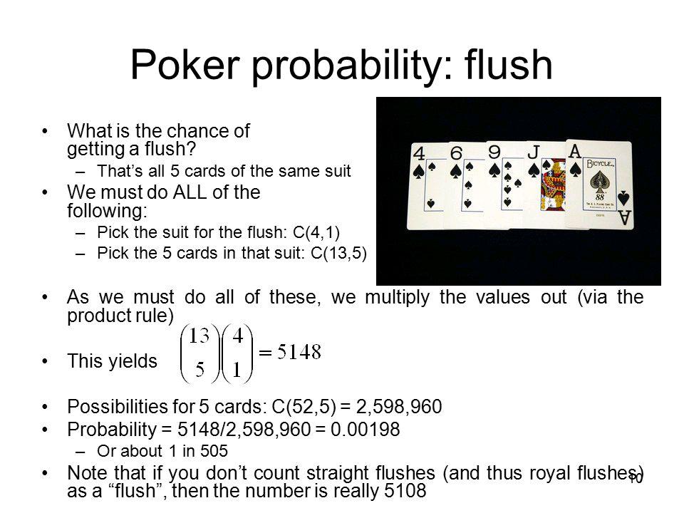 10 Probability Flush