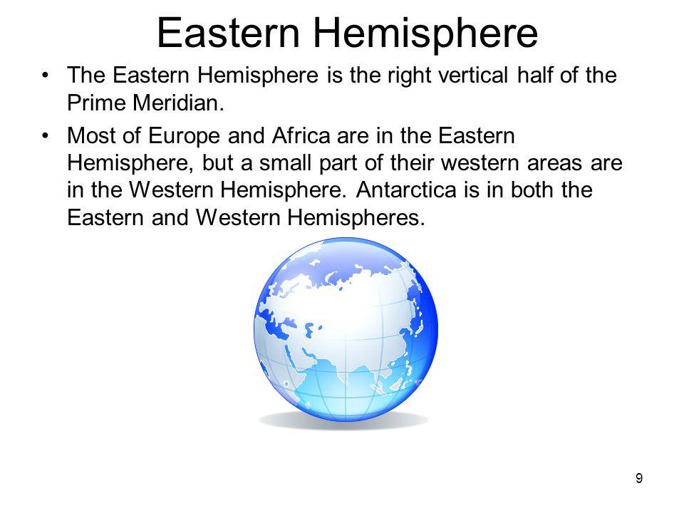 9 Eastern Hemisphere ...