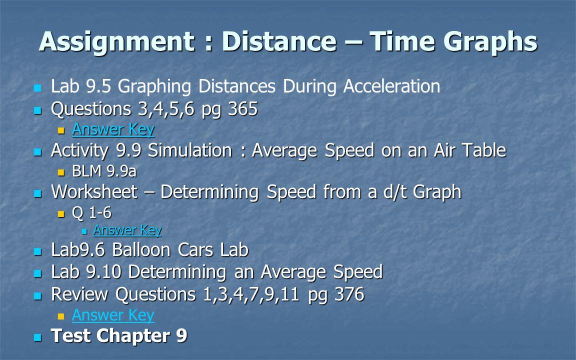 Grade 10 Science Motion Unit. - ppt download