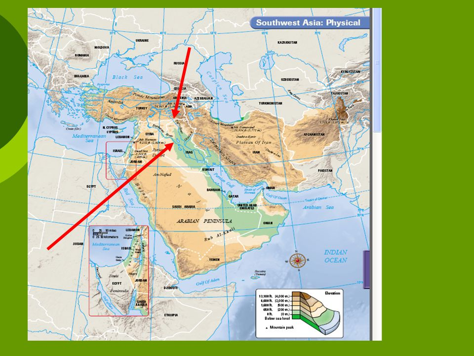 Physical Geography of the Southwest Asia - ppt video online download