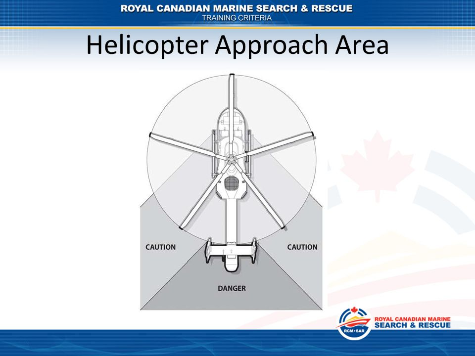 Helicopter Approach Area