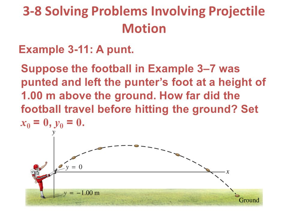 3-8 solving problems involving projectile motion ppt download.