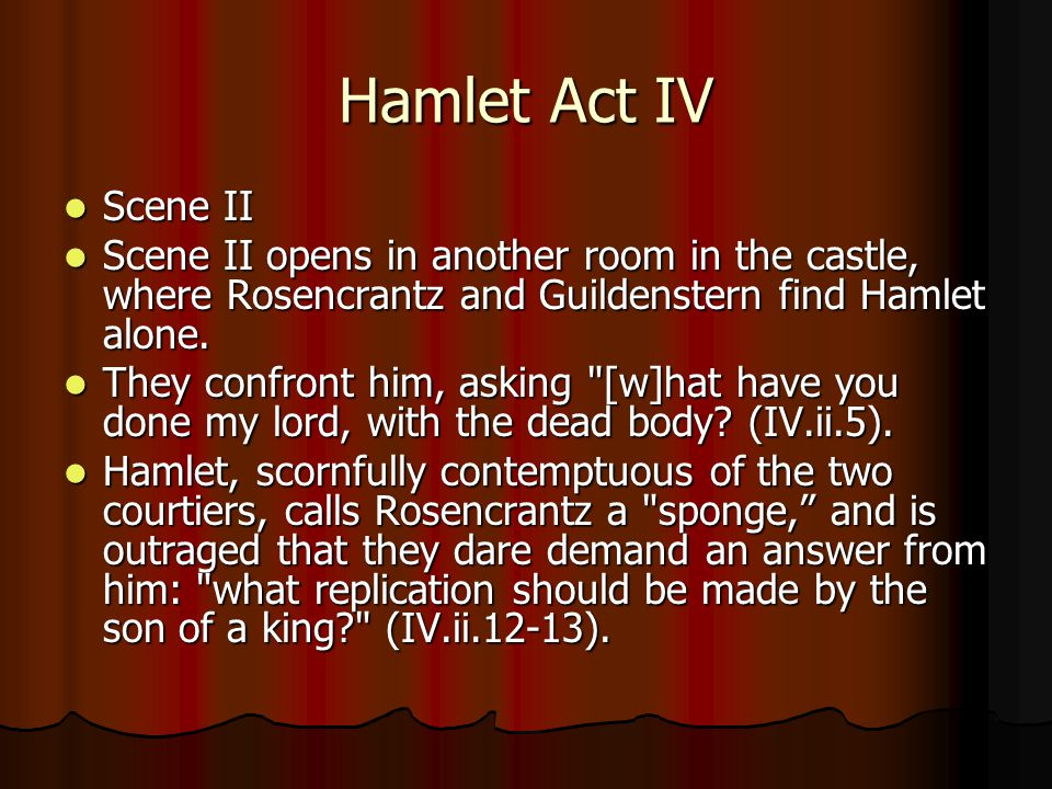 hamlet act 5 study guide answers