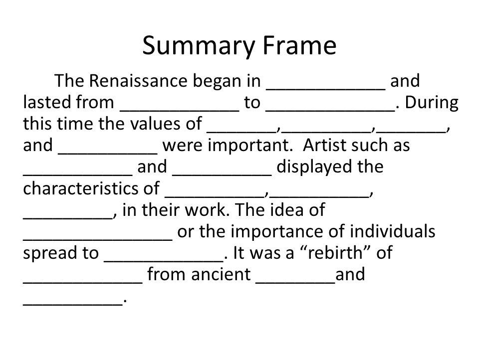 Renaissance Chapter 17: Section ppt video online download
