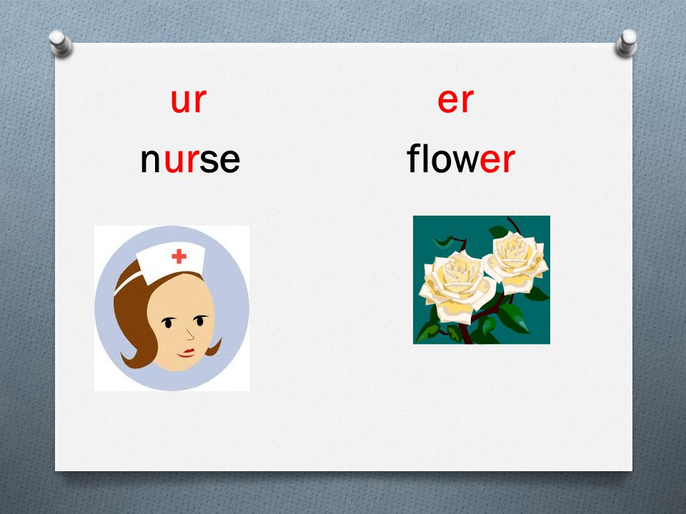 ur er nurse flower